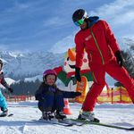 Ski lessons for children